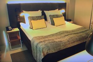 ブレバルディ・エグゼクティブルームのベッド